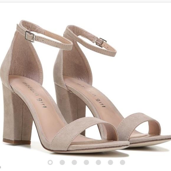 35e541ebdb0e Madden Girl Shoes - Madden Girl Bella suede chunky heel